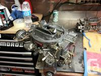 almost new edelbrock 600 performer series carb, part