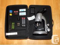 For sale is an Edu Science ToysRus 1200x microscope as