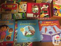 Selling various excellent condition books, puzzles and