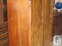 Edwardian Armoire as pictured appealing in appearance