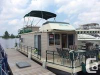 1980 Egan Houseboat available. Entirely remodelled and