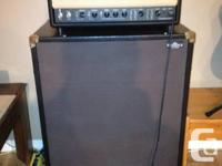 Egnater Tweaker 40 all tube 40w amp head. Five tubes,