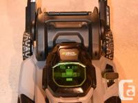 In new condition EGO+ 21inch push mower (Model LM2101)