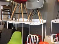 Grab 'n' go Eiffel chairs & stools. Chairs: $149 - buy