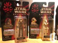 These Star Wars figures are from Episode 1 and have