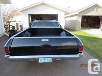 Make Chevrolet Model El Camino Year 1968 Colour black
