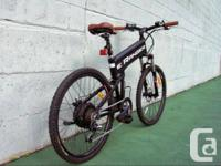 """eRanger 500w 36v 18"""" Full Size Electric Bike  Style,"""