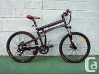 This eRanger FX35 bike is one of the lightest full size