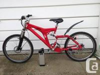 I've got an electric mountain bike for sale. I paid