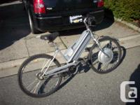 The e-bike runs good Cell number is  name is Malcolm. I