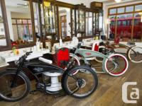 ELECTRIC BIKES Handmade, designed and built in