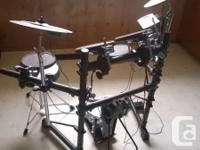 Roland Electric Drum Set. V-Drum - TD3  They are just
