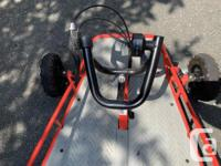 Colour Red Razr Electric Go-Kart/ Dune Buggy Tired of