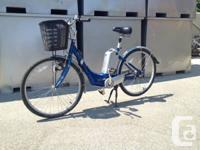 Merida brand name Electric Aid bike. 26 inch tires,