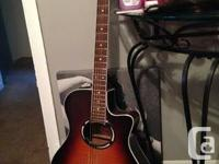 I'm selling my gorgeous guitar. It's a Yamaha APX500 for sale  Ontario