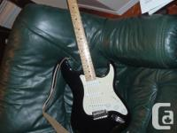 Peavey Electric Guitar and portable amplifier. Used