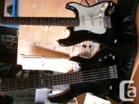 Electric Guitars excellent condition includes case