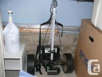 One Hill Billy Golf Cart with a NEW Battery and CHARGER