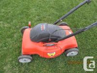 Black & Decker mower in great condition. Text me at