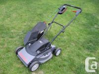 Hate hassling with gas mowers? Go electric! This