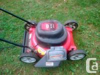 MTD lawnmower - 18 Inch wide - 12 amp motor - sharp