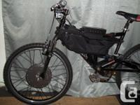 Mountain EBike (double suspension) Mountain Ebike