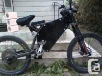Mountain EBike (downhill double suspension) (very fast
