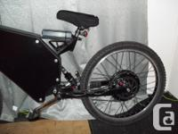 Mountain EBike (normal double suspension) (very fast