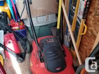 Black and Decker mulching mower (bag not included) 13.5