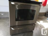 OBO GE stove/oven Works great. Upgraded to matching