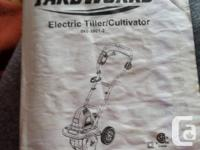 Electric Tiller/cultivator original price 140.00 used