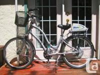 Utilized Twice! Townie 21 Electra Bike.  Owner