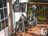 Utilized Twice! Townie 21 Electra Bike.  Owner acquired