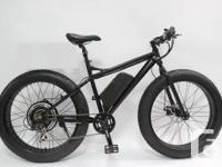 Electric Fat Bike 48v 500w.   Digital controller Pedal