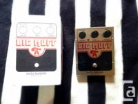 Offering my Electro Harmonix Big Muff.  Bought from