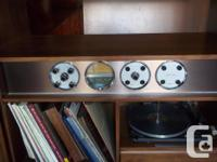 Collectible Mid century, c 1956, Electrohome AM/FM dual