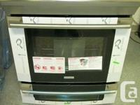Brand New, Scratch And Dent Electrolux EW30IS6CJS Slide