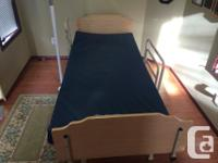 This hospital bed was implied for a moms and dad who