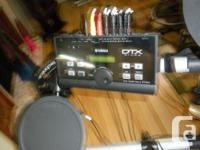 Yamaha DTX 500 drums with all the upgrades. Upgraded