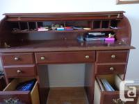 * Large deep drawers for your files etc. * Cubby holes