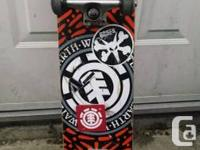 I have a stock element skateboard for sale. Good