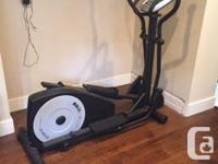 This, like all elliptical trainers for sale, is like