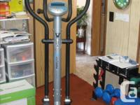 Elliptical Cross Trainer - In Excellent Condition This