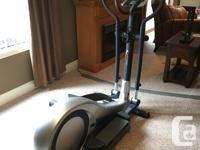 Electronic elliptical with memory.  Excellent