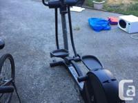 Nordic Track elliptical machine in great condition.