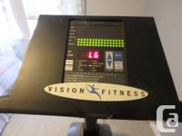 Vision Fitness X6200 with programmable computer