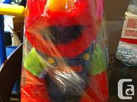 Elmo toy that talks( $35.00) and used  Elmo play phone