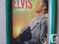 Elvis Collectibles - Serving Tray  Elvis Metal Serving