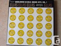 Cd RCA LPM-6401 Elvis Presley Worldwide 50 Gold Award