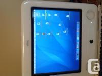 The eMac All-in-0ne is in ideal functioning order and